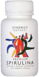 Synergy Spirulina 500mg x 100 tabs-Health Tree Australia