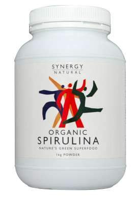Synergy Spirulina Powder 1kg Organic-Health Tree Australia