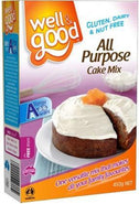 Well And Good All Purpose Cake Mix 450g-Health Tree Australia