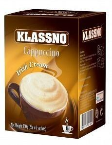 Klassno Cappuccino Irish Cream G/F (8 Sachets) 100g-Health Tree Australia
