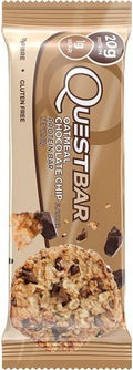 Quest Protein Bar Oatmeal Choc Chip G/F 12x60g JUN18