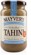 Mayvers Tahini Unhulled 385gm-Health Tree Australia
