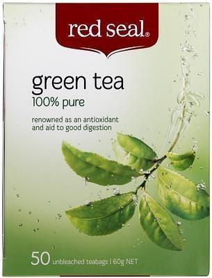 Red Seal Green 50Teabags-Health Tree Australia