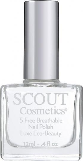 Scout Cosmetics Nail Polish Vegan Dual Top & Base Coat Plus 12ml