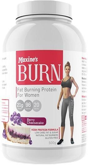 Maxine's Burn Protein Powder Berry Cheesecake G/F 500g