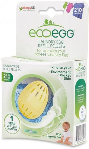 Ecoegg Laundry Egg Refill Pellets 210 Washes Fragrance Free