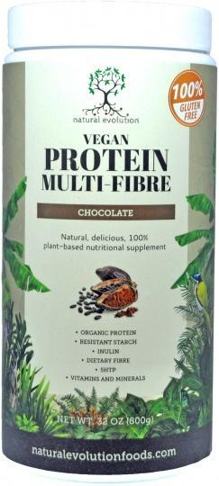 Natural Evolution Vegan Protein Multifibre Chocolate G/F 800g