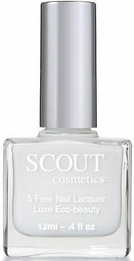 Scout Cosmetics Nail Polish Vegan GRAY As You Are 12ml