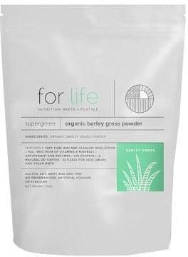 For Life Organic Barley Grass Powder 100g New