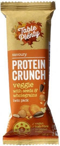 Table of Plenty Protein Crunch Veggie with Seeds and Wholegrains 12x36g AUG18