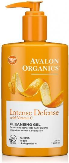 Avalon Organics Intense Defense with Vitamin C Cleansing Gel 250ml-Health Tree Australia