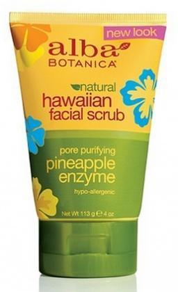Alba Hawaiian Pineapple Enzyme Facial Scrub 118ml