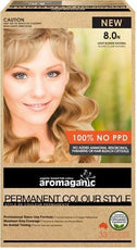 Aromaganic 8.0N Light Blonde (Natural)-Health Tree Australia