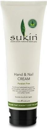 Sukin Hand & Nail Cream Tube 125ml-Health Tree Australia