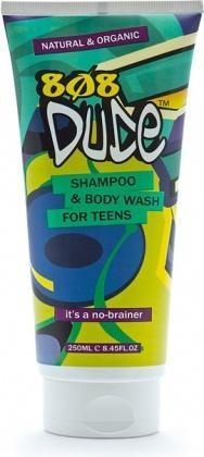 808 Dude Organic Shampoo & Body Wash for Teens 250ml