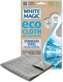 White Magic Eco Cloth Stainless Steel - 32x32cm-Health Tree Australia