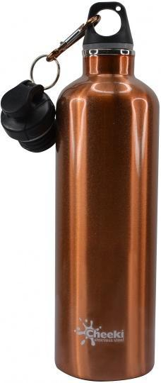 Cheeki Stainless Steel Insulated Copper 600ml-Health Tree Australia