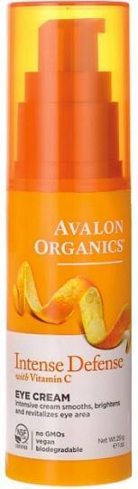 Avalon Organics Intense Defense with Vitamin C Eye Cream 29g-Health Tree Australia