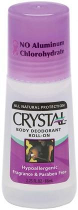 Crystal Deodorant Body Roll On 66ml-Health Tree Australia
