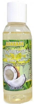 Banaban Extra Virgin Coconut Ylang Ylang Body Oil 125ml-Health Tree Australia