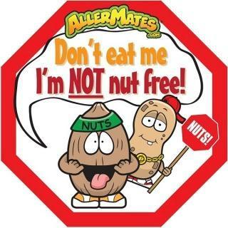 AllerMates Dont Eat Me Im Not Nut Free Labels - 24 Pack - Health Tree Australia