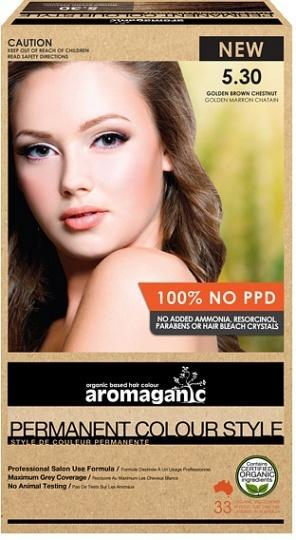 Aromaganic 5.30 Golden Brown Chestnut