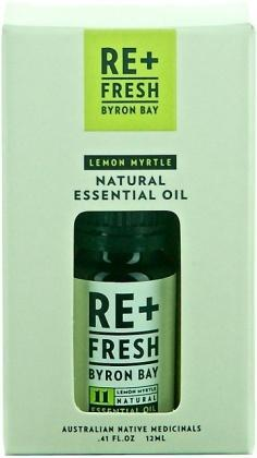 ReFresh Byron Bay Lemon Myrtle Essential Oil 12ml Gift Box-Health Tree Australia