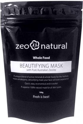 Zeo Natural Beautifying Mask 100g-Health Tree Australia