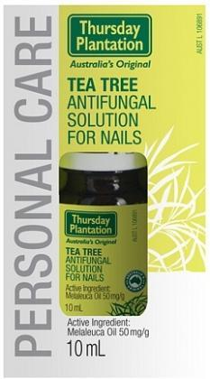 TP Tea Tree Antifungal Solution for Nails 10ml-Health Tree Australia