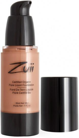 Zuii Flora Liquid Foundation Honey Beige 30ml-Health Tree Australia