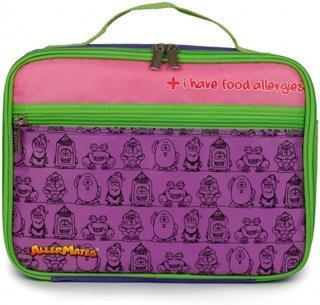 AllerMates Allergy Alert Lunch Bag Purple - Health Tree Australia