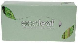 Ecoleaf 100% Recycled Family Tissues 2Ply 110 Tissues-Health Tree Australia
