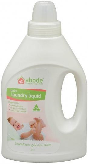 Abode Baby Laundry Liquid Fragrance Free 1L