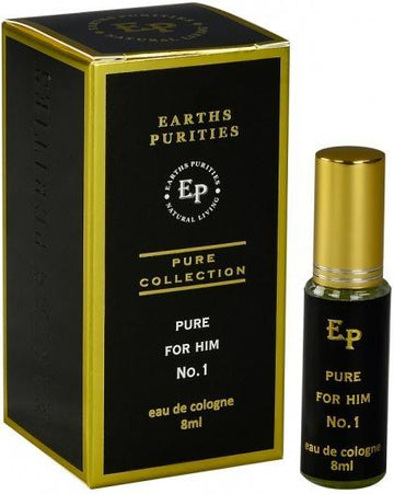 Earths Purities Pure Collection Pure for Him Eau De Cologne No.1 8ml