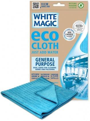 White Magic Eco Cloth General Purpose - 32x32cm-Health Tree Australia
