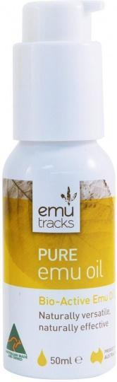 Emu Tracks Pure Emu Oil 50ml-Health Tree Australia