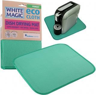 White Magic Eco Cloth Dish Drying Mat Forest - 40x45cm-Health Tree Australia
