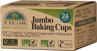If You Care Jumbo Baking Cups 24Pcs-Health Tree Australia