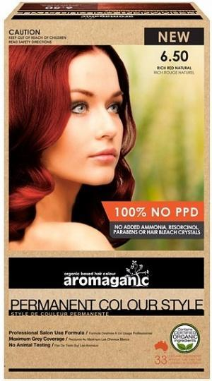 Aromaganic 6.50RN Dark Blonde (Red Natural)-Health Tree Australia
