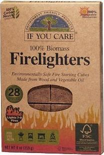 If You Care Firelighters 28 Cubes-Health Tree Australia