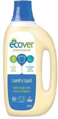 Ecover Laundry Liquid Front&Top Load 1.5ltr-Health Tree Australia