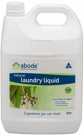 Abode Natural Laundry Liquid Blue Mallee Eucalyptus 5L