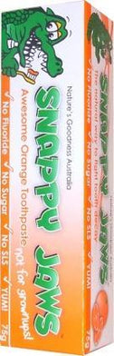 Snappy Jaws Toothpaste 75g Orange-Health Tree Australia