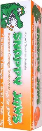 Snappy Jaws Toothpaste 75g Orange