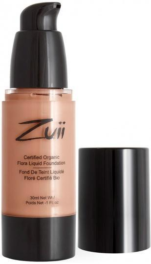 Zuii Flora Liquid Foundation Natural Tan 30m-Health Tree Australia