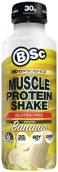 BSc RTD Muscle Protein Shake Banana Smoothie G/F 450ml