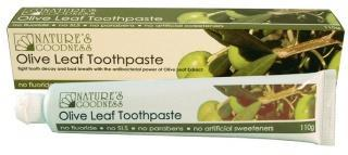 Natures Goodness Olive Leaf Toothpaste 110g-Health Tree Australia