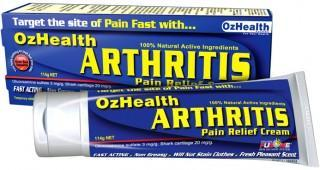 Oz Health Arthritis Pain Relief Cream 114g-Health Tree Australia
