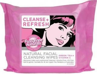 Essenzza Fuss Free Facial Cleanse Wipes Refresh 25Pk-Health Tree Australia