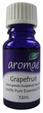 Aromae Grapefruit Essential Oil 12mL-Health Tree Australia